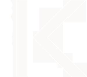 EK Logo (Short) - White